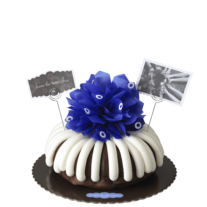 From the 'Hole' Office Bundt Cake