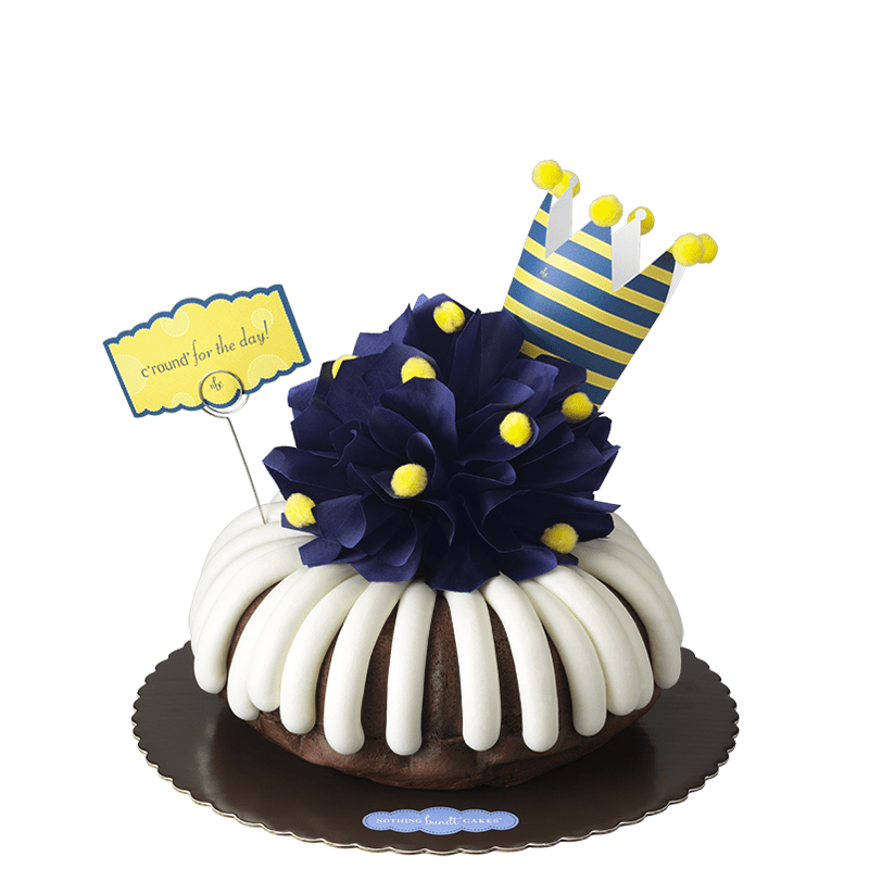C'round' for the Day (Navy) Bundt Cake