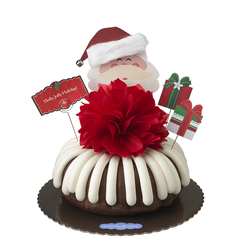 Holly Jolly Bundt Cake