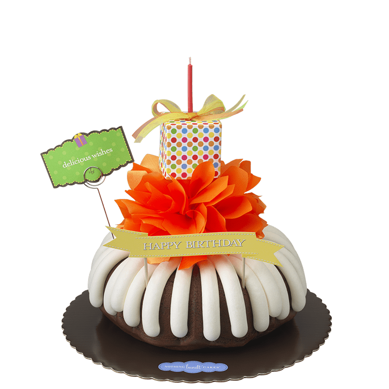 Delicious Wishes Bundt Cake