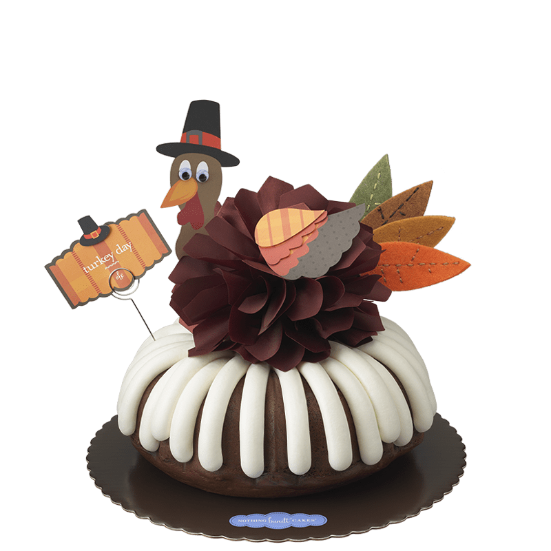Turkey Day Bundt Cake