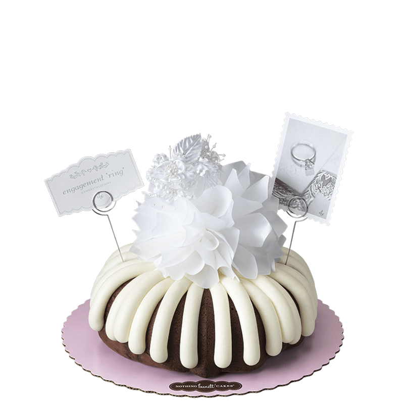 Engagement 'Ring' Bundt Cake