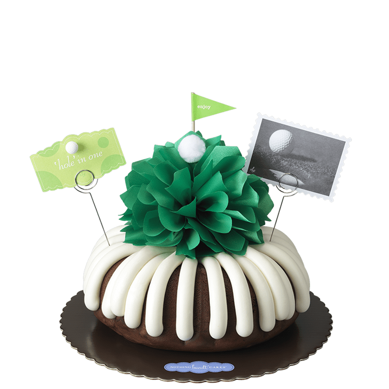 'Hole' in One Bundt Cake