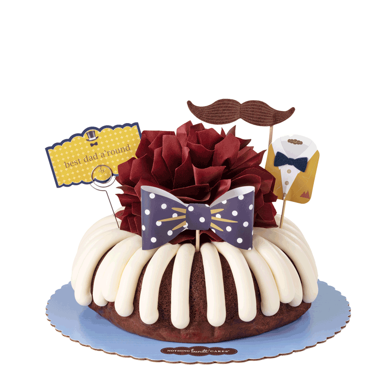 NEW! Best Dad A'Round Bundt Cake